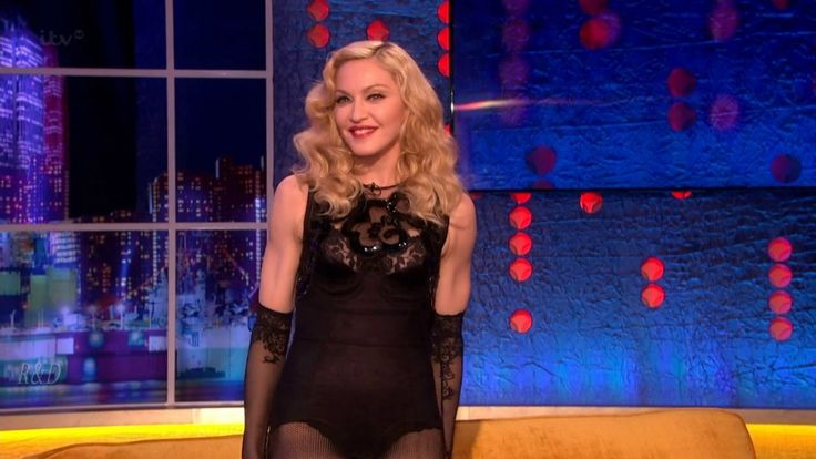 Madonna The Jonathan Ross Show 2015