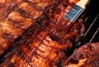Thick and Sticky Barbecue Sauce_ Simmer honey and hot sauce with this brew and your barbecue is good to go.