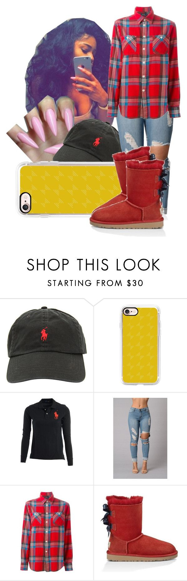 """Day with Bae Tomorrow ‼️"" by shamyadanyel ❤ liked on Polyvore featuring Ralph Lauren, Casetify, Polo Ralph Lauren and UGG Australia"