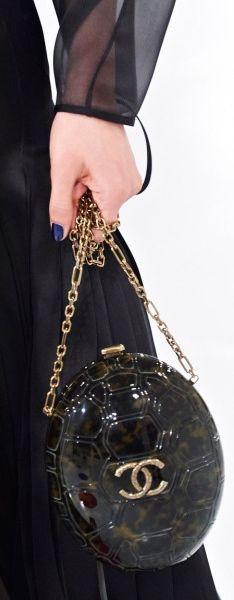 Chanel Tortoise Shell Bag