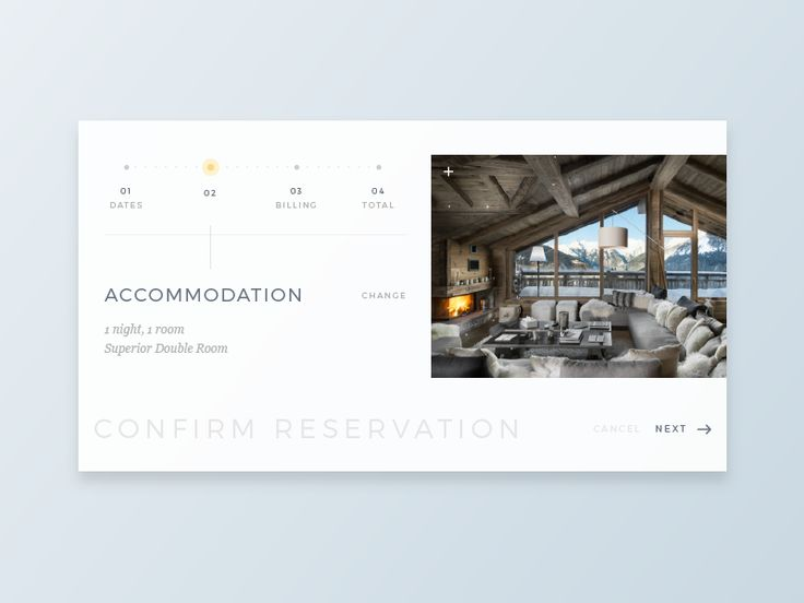 Daily UI - Day 54 - Confirm Reservation by irene georgiou