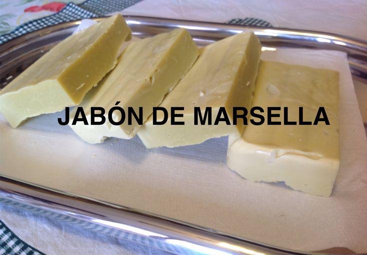 Jabón de Marsella hecho en casa.