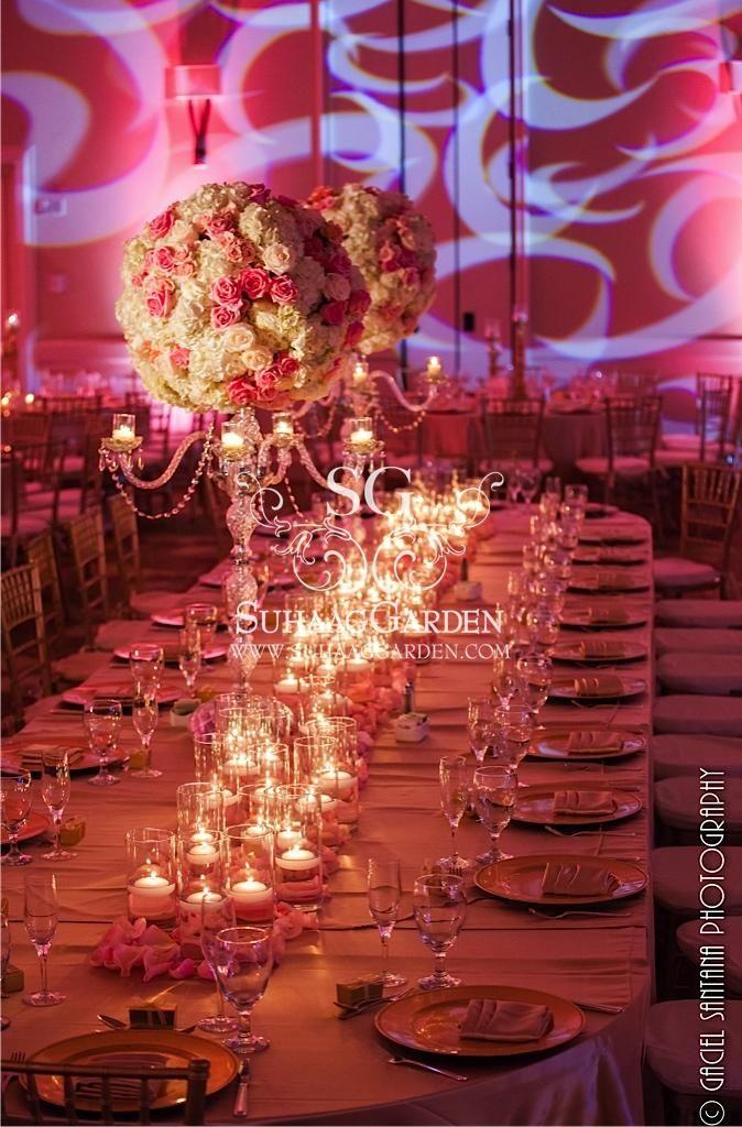 color coral, coral themed decor, coral themed wedding, event decor, Event  design. Garden Wedding CenterpiecesGarden WeddingsWedding DecorationsIndian  ... - Best 25+ Indian Wedding Centerpieces Ideas Only On Pinterest