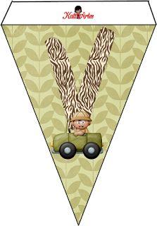 Banderines de la Jungla.