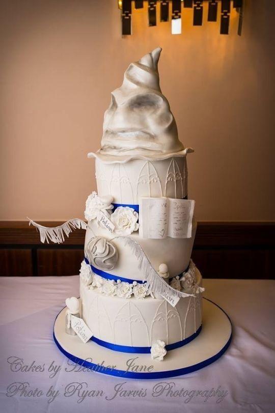 Harry Potter Wedding Cake Heather Jane Uk