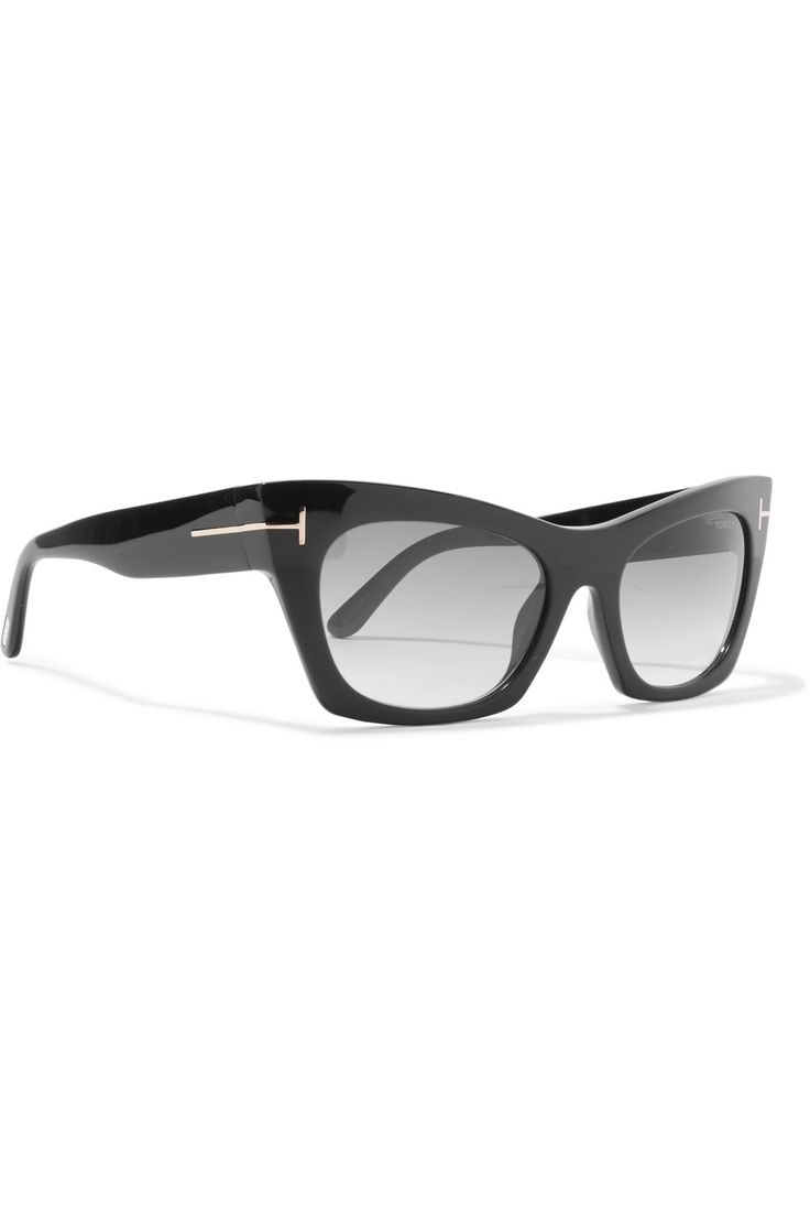Том Форд   кошачий глаз солнечные очки ацетата   NET-A-PORTER.COM