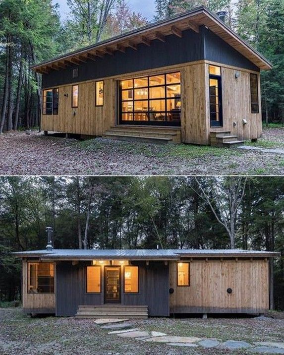 55 Best Tiny House Plans Small Cottages Design Ideas 37 Smallhousedesign Modernfarmhouse Houseplansideas Home Designs Cottage House Plans Small Cottage House Plans Tiny House Cabin