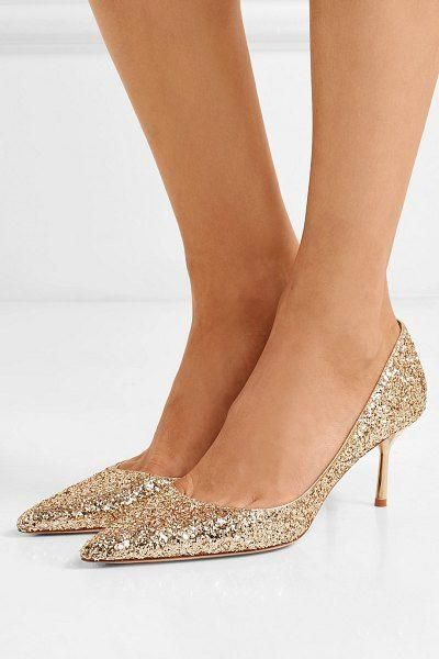 9ad0b779a22 Miu Miu glittered leather pumps.  miumiu  nudeshoes  pumps  heels ...