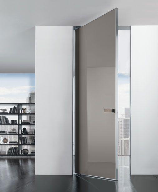 IANUS - Swing Door - Door with bi-directional pin hinges. Designed by Alessandro & 12 best LONGHI DOORS COLLECTION images on Pinterest   Sliding doors ...