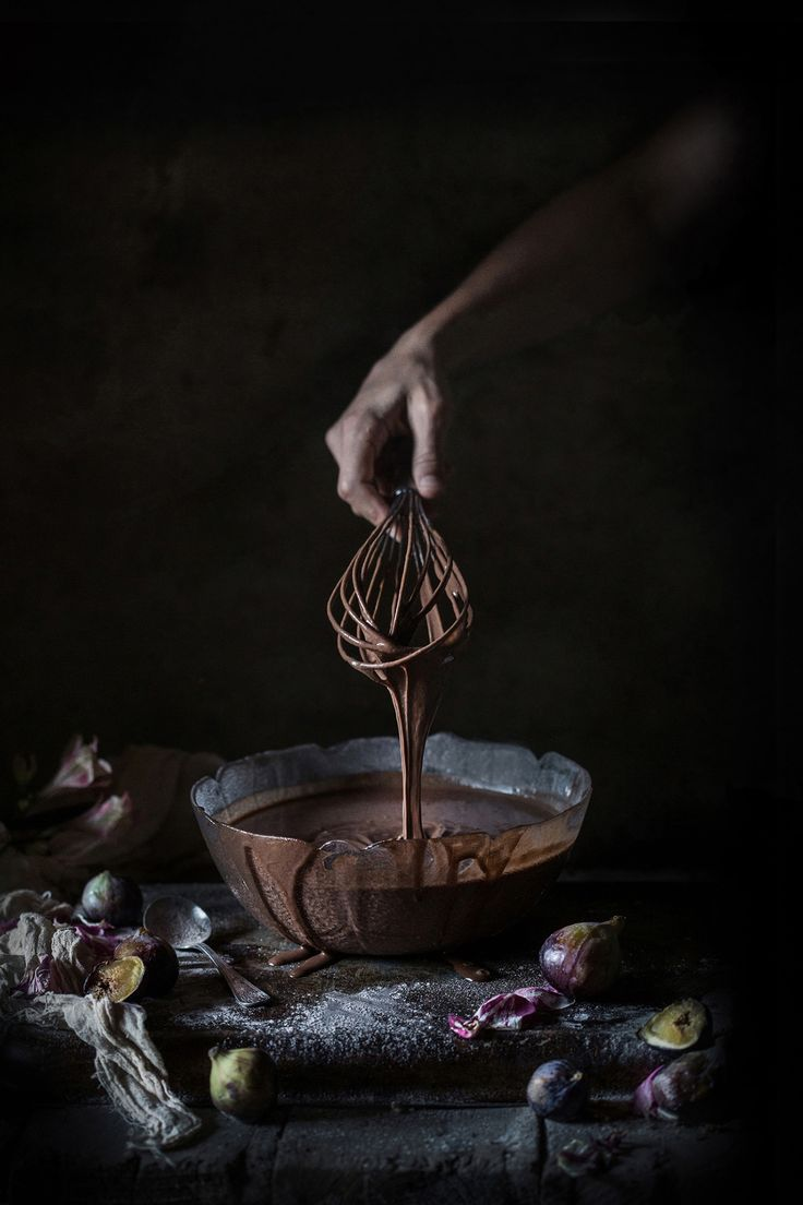 Chocolate Layer Cake with Fig Jam & Mascarpone, and a Pep Talk for all Aspiring Photographers Out There - Hortus Natural Cooking by Valentina Solfrini