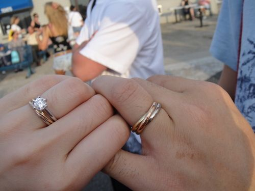 Best 25 trinity ring ideas on pinterest trinity cartier cartier trinity pair wedding band junglespirit Image collections