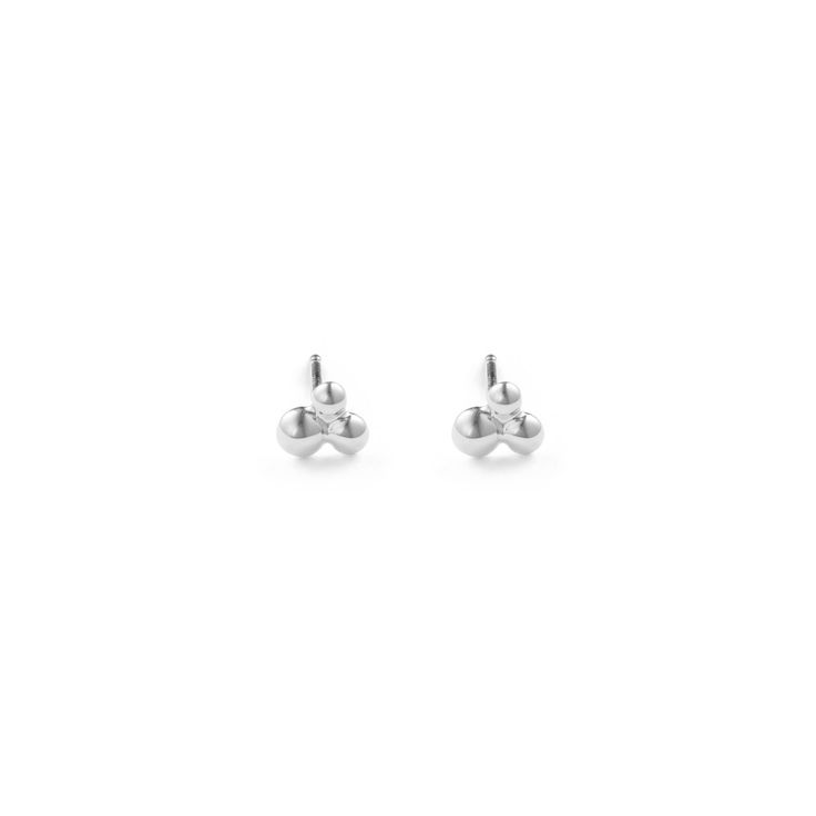 Cluster Studs - Sterling Silver / Free Series