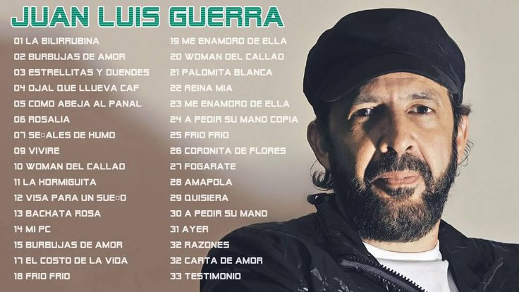 30 Éxitos Mix - Juan Luis Guerra Sus Mejores  Completos 2016