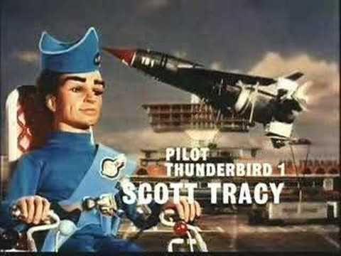 Thunderbirds Are Go ou Thunderbirds Em Ação. Série dos anos 60 que era e continua sendo a preferida entre tantas. Tem também, na minha opinião, a melhor música tema entre todos os seriados que já vi. Uma paixão antiga.