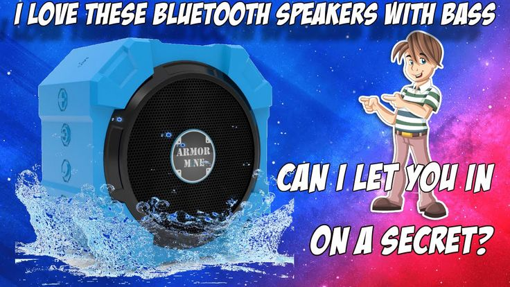 Do You Need Bluetooth Speakers With Bass? http://youtu.be/ynOlpHLPFZM