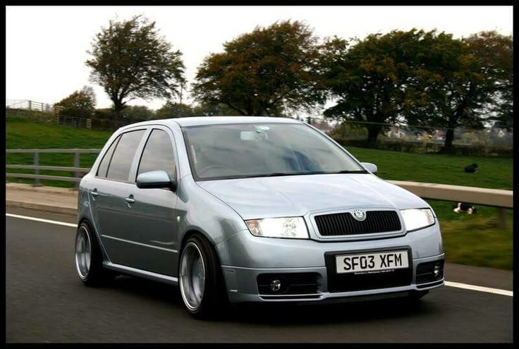 Fabia Vrs on Borbet A wheels