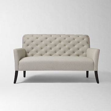 West Elm Elton Settee Furniture Design For Modern Home
