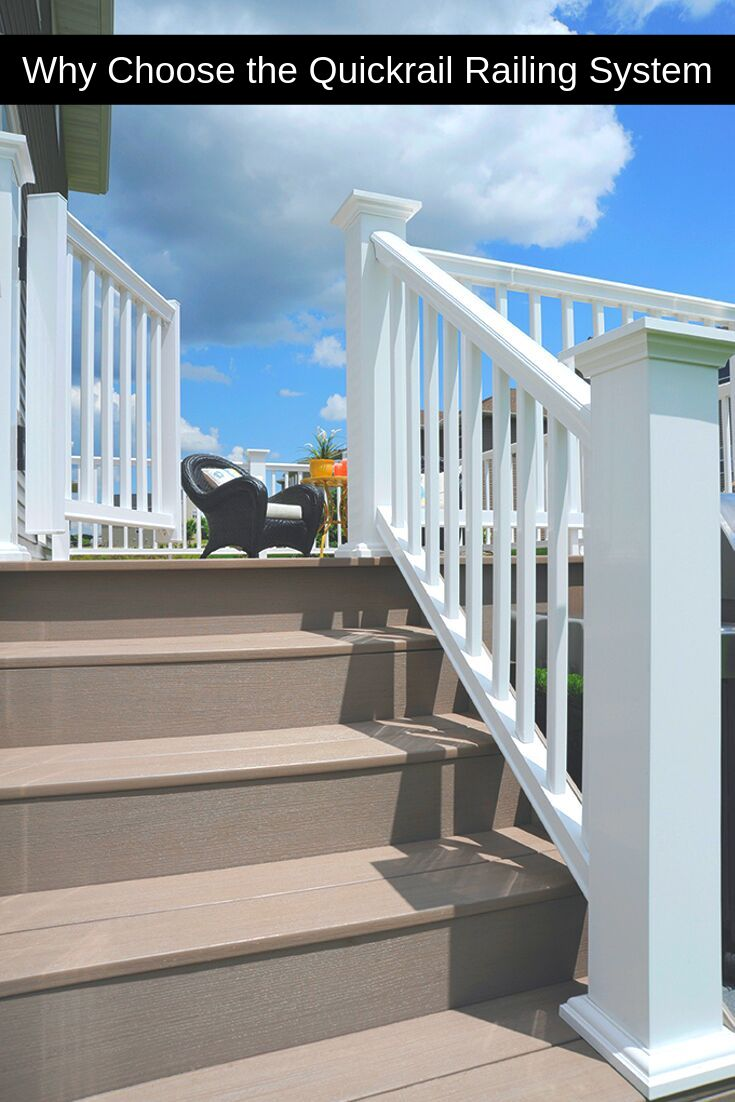 QuickRail Railing System comes complete in a kit for easy ...