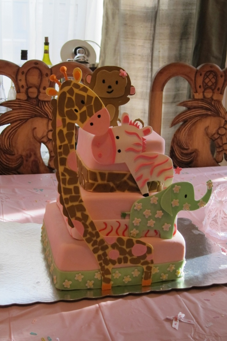 1000 Images About Its A Girl Safari Baby Shower On Pinterest