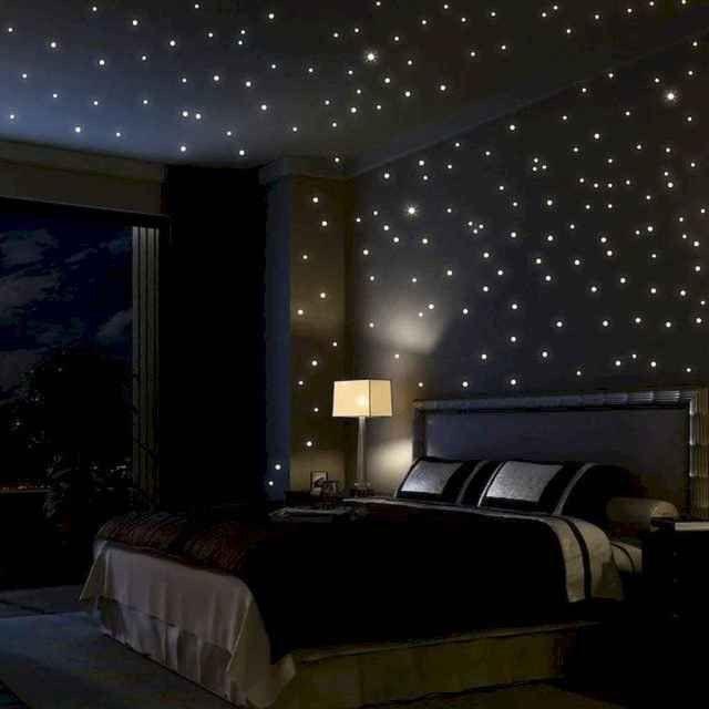 22 Amazing Dark Bedroom Decorating Ideas Best Home Design Ideas In 2020 Romantic Bedroom Lighting Led Lighting Bedroom Bedroom Design