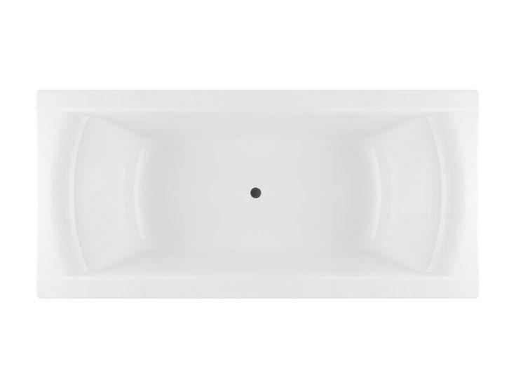 Lanark shanti 1800 rectangle bath 739 bathroom for 1800s bathroom decor