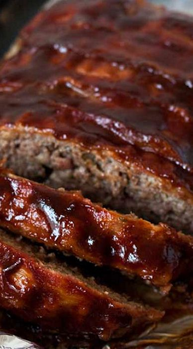BBQ Bacon Meatloaf (Pressure Cooker) Family Favorite!  Mine needed 30-35 minutes to cook.