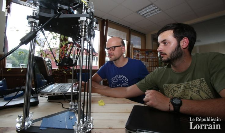 Moussey : le FabLab de Philippe Schiesser imprime des chaussures à Bata