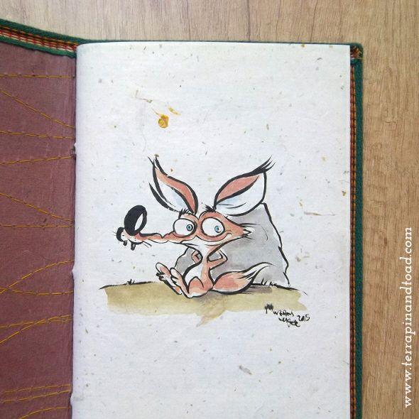 Terrapin and Toad: Sketchbook doodles - Fox