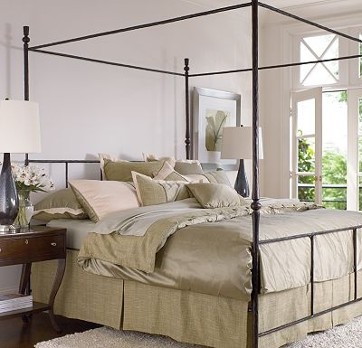 thomasville unreal price Luminé Metal Bed Queen Master Bedroom