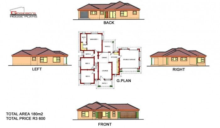 To Be Build At Chebeng Limpopo House Plans South Africa Free House Plans House Plan Gallery