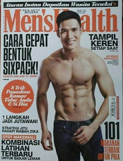 MEN'S HEALTH INDONESIA MARET 2016 #buku #majalah #sewabuku #sewamajalah #perpustakaan