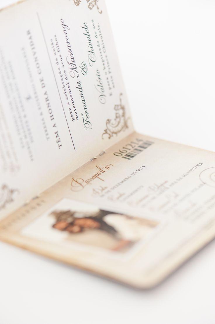 Wedding passport invitation www.creativeheroes.co.za