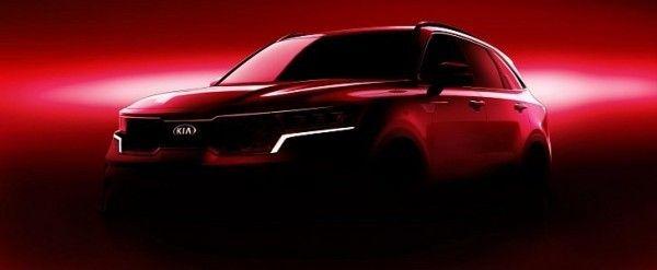 All New 2021 Kia Sorento Mq4 Previewed Will Feature Hybrid Power Autoevolution In 2020 Kia Sorento Sorento Geneva Motor Show