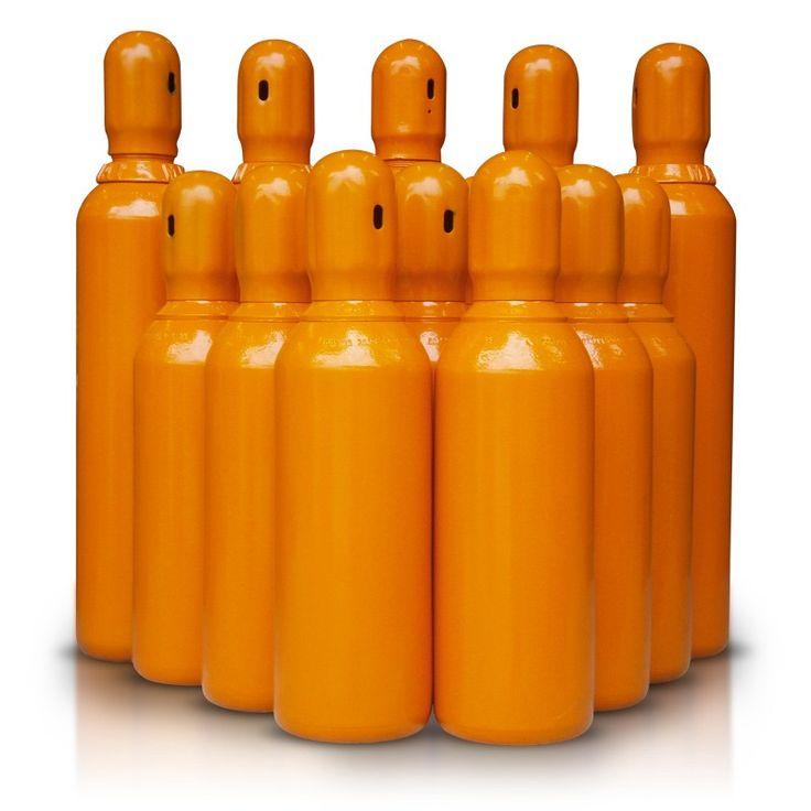 aluguel de cilindro de gás helio pronto para uso cheio