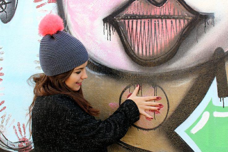 kit bonnet pour débutant So Easy tricoté par cpourki.canalblog.com