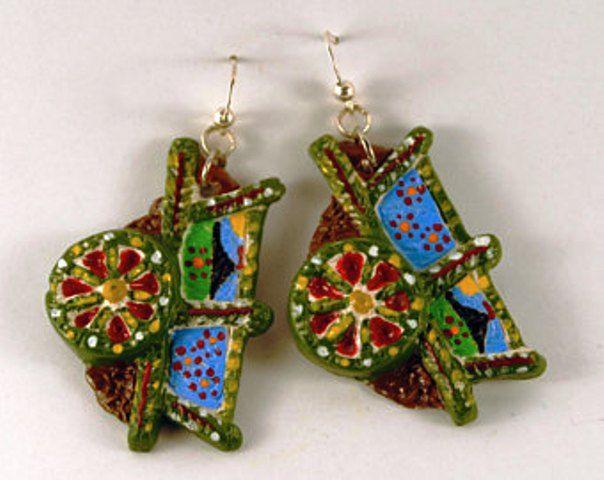 sicilian carriage earrings