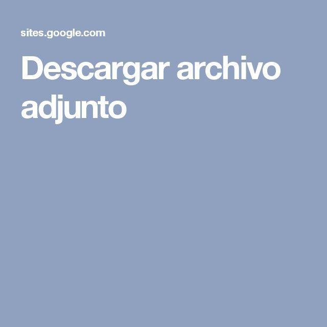 Descargar archivo adjunto