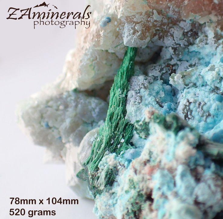 SHATTUCKITE Plancheite Malachite on Quartz Crystal Koakofeld Namibia QE17 | eBay