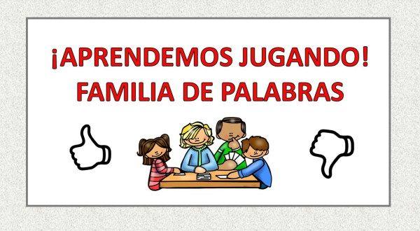 #Conciencia fonológica FAMILIA DE PALABRAS colorea la relación correcta