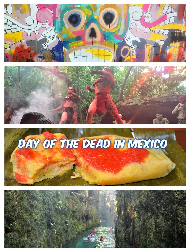 While Americans are celebrating Halloween and All Saints' Day, Mexico has its own sort of eerie celebration... Día de Muertos or Day of the Dead.