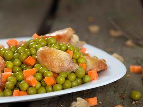 Mazare cu carne de pui - BucateleNoastre