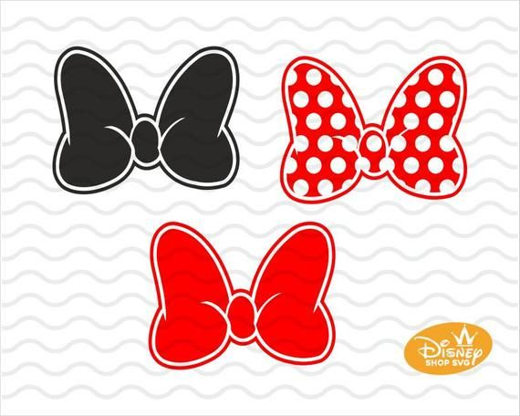 Svg Dxf Png Minnie Mouse Bow Clipart Layared Minnie Mouse Etsy Bow Clipart Minnie Mouse Bow Minnie Mouse Outline