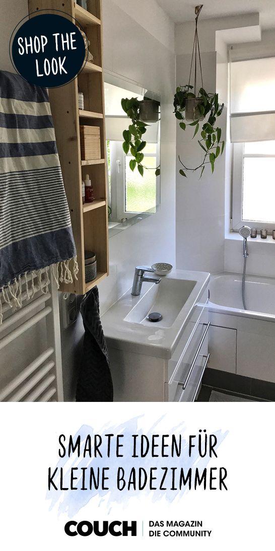 Smarte Ideen für kleine Badezimmer in 2019   Badezimmer ...