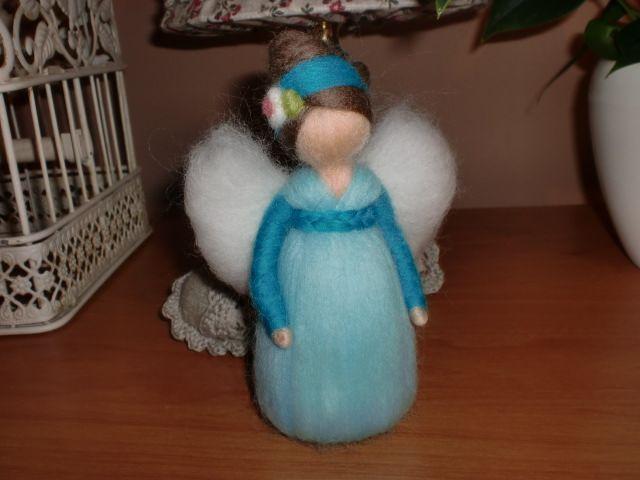 ♥ andělička tyrkysová ♥