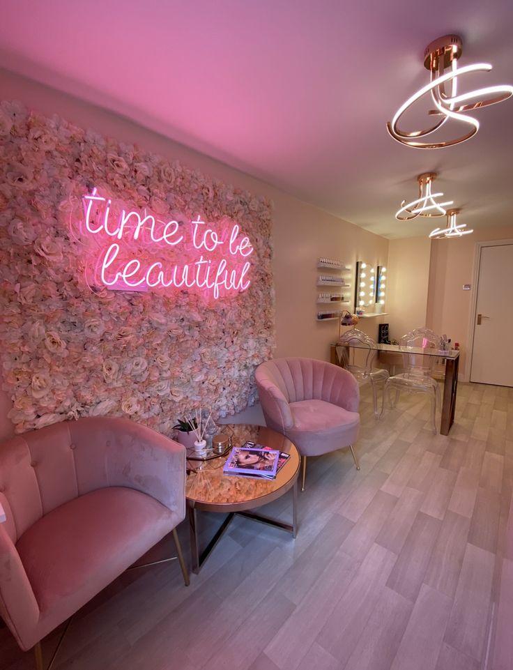 Salon Inspo   Omorfia, Gloucestershire in 2020   Beauty room decor, Esthetician room decor ...