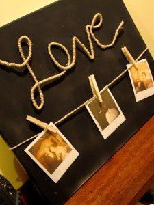 Love Canvas Picture Hanger