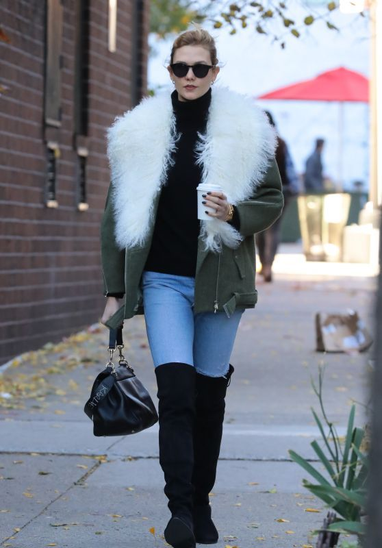 Karlie Kloss Autumn Style - New York, November 2016