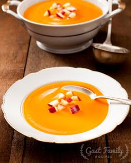 Gast Family Recipes: Curried Apple Butternut Squash Soup Recipe
