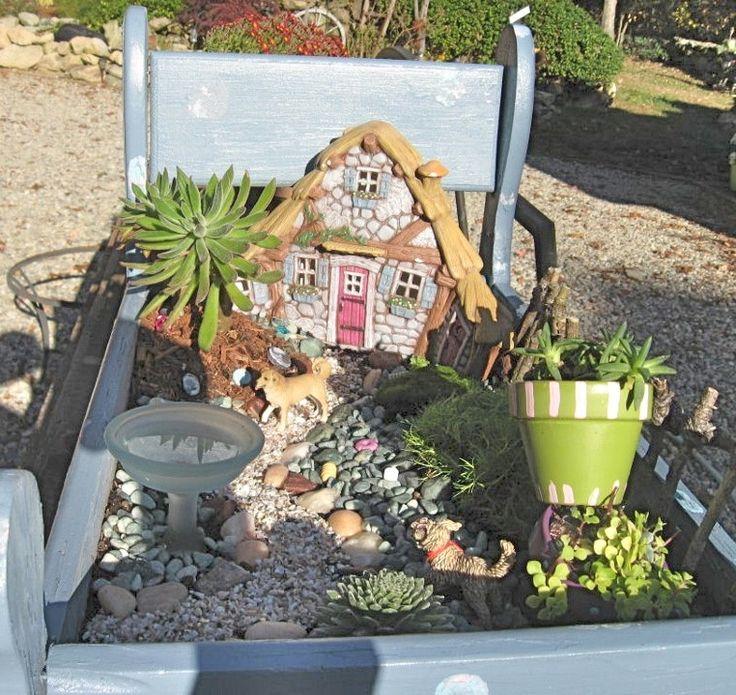 Garden Ideas 2012 306 best miniature gardens images on pinterest   fairies garden