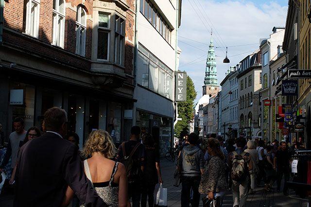 Strøget, la calle peatonal más larga de Europa, foto de Joseba Umbelina
